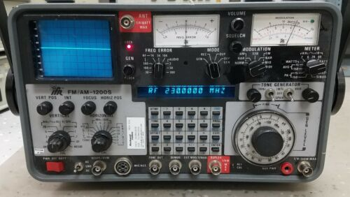 IFR FM/AM 1200S Communications Service Monitor