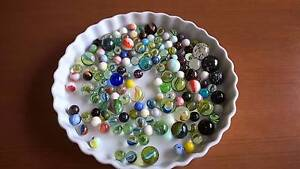 Vintage Marbles Assorted Colours & Sizes - 1kg Golden Grove Tea Tree Gully Area Preview
