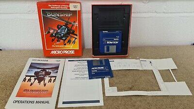 Gunship in RARE Box Atari ST TESTED VGC