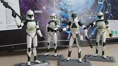 Star wars clone trooper set , bantha squad/Anti hellfire team 2009 x 4 figures