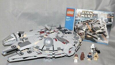 Lego Star Wars set 4504 Millennium Falcon with Minifigures & Instructions