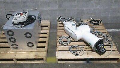 Staubli Cs7mb Rx60 Craut Robot Arm Controller Adept Pendant Cables Cleanroom