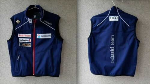 Descente Swiss Ski Gilet Women Size 48 Audi