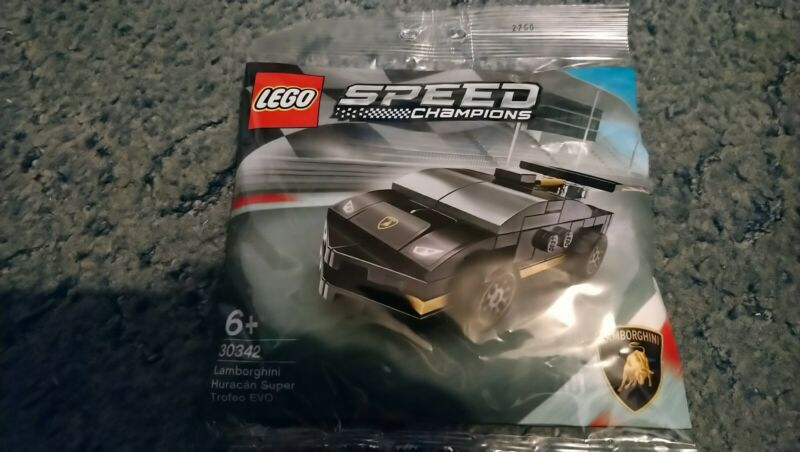 Lego+30342+Speed+Champions+Lamborghini+Huracan+Trofeo+polybag+NEW+SEALED+2020