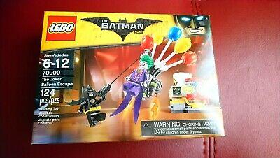 *LEGO THE BATMAN MOVIE* *THE JOKER BALLOON ESCAPE* SET 70900 (ITEM DISCONTINUED)