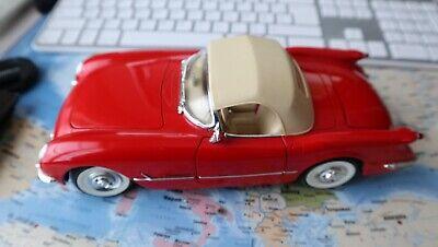 Mira chevrolet corvette cabriolet 1954 rouge 1:18 convertible red  décapotable