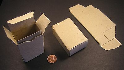 Reverse Tuck Small Parts Box 1 X 1-58 X 2-34 0.024 Thickness 25 Pieces