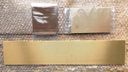 Set of 3 Prototype PCB Copper Bread Boards