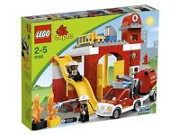 Fire station duplo Lego 6168