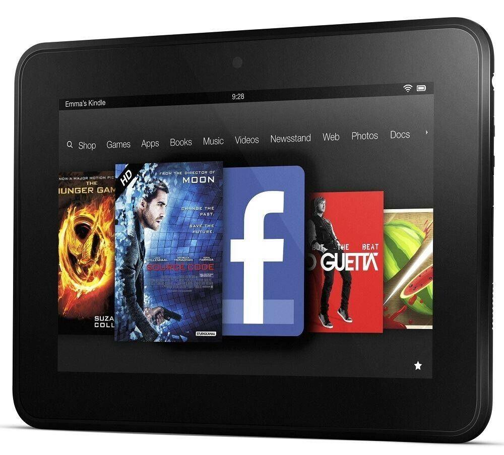 Amazon x43z60 kindle fire 7in affichage hd / wi-fi / 8gb - noir