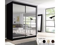 🚚🚛 SAME Day Delivery 🚚🚛Dexter Sliding Door Luxury Wardrobe - SAME DAY DELIVERY!
