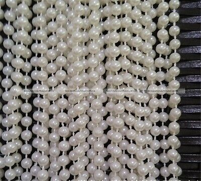 2 Meters 8mm Ivory White Pearl Bead String Trimming Wedding Decoration - Ivory Pearls