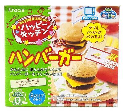Kracie Popin Cookin Happy Kitchen Hamburger DIY KIT Happy kitchen from Japan