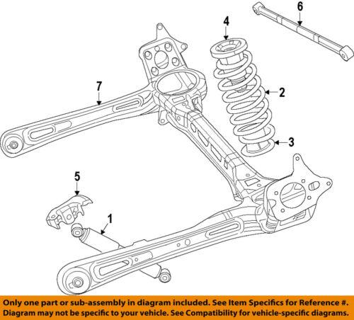 CHRYSLER OEM Rear Suspension-Track Bar 68065659AC | eBayeBay