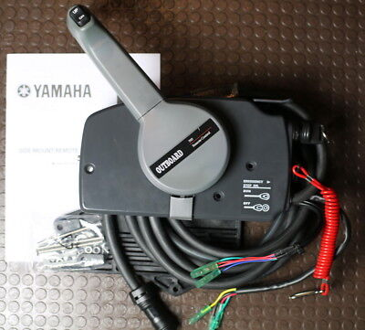 Yamaha 703 outboard remote control push or pull type (703-48207-22-00)
