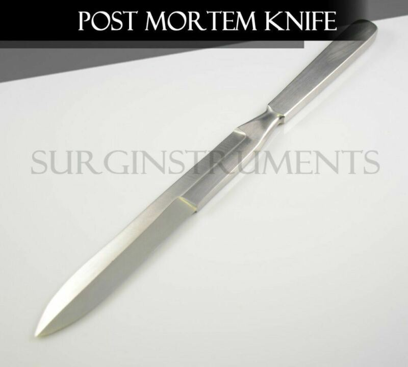 """Stainless Steel Autopsy Post Mortem Disection Knife Blade - Double Edged 11"""""""
