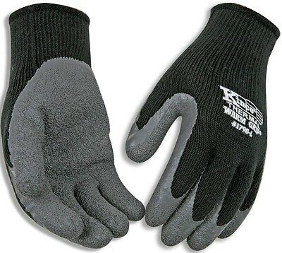 (Kinco 1790-XL Warm Grip Men's Cold Weather Latex Coated Knit Glove, Extra)