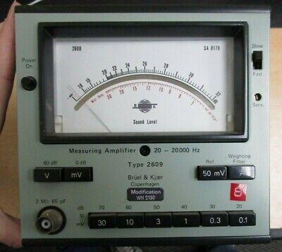 Bruel Kjaer Type 2609 Sound Level Meter
