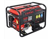 Loncin LC6500D-AS Petrol Generator 5.5kW