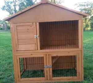 ❤AFRAME ROOF HIGH QUALIY RABBIT GUINEA PIG HUTCH NEW PACKAGE DEAL Londonderry Penrith Area Preview