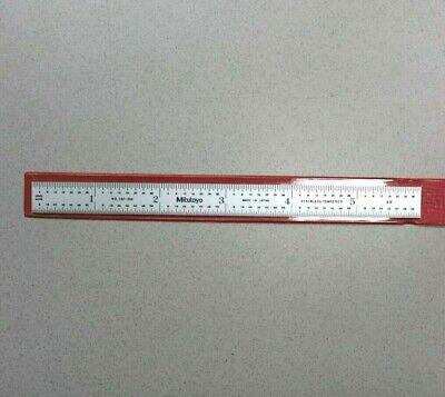 Mitutoyo 182-204 Rule Steel 6 3r Brand New