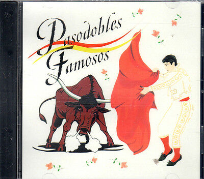 Pasodobles Famosos Banda Taurina De Madrid Brand Sealed Cd