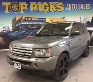 2008 Land Rover Range Rover Sport SUPERCHARGED, 22 WHEELS, LEATH
