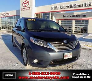 2016 Toyota Sienna LIMITED AWD AWD Big rebates