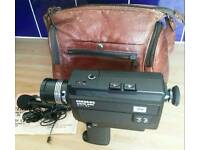 Vintage 'Cinerex' Super 8 Movie Camera, accessories & Case