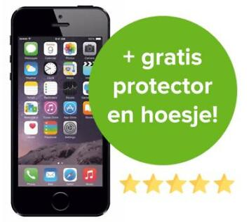 Refurbished iPhone 5S 16GB | 32GB | 64GB Zwart