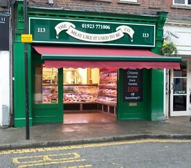 Butcher Shop Manager Required