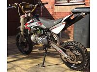 140cc demon x stomp Pitbike pit bike like cr dt yz Kx ktm tzr rs rm etc