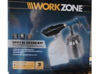 Spot Blaster kit - Aldi Workzone hand unit for use with air compressor