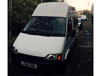 White Ford Transit 100 Custom SWB for sale £800 ono