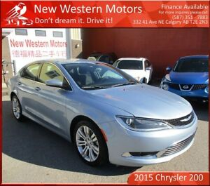 2015 Chrysler 200 Limited!! LEATHER!! SUNROOF!! B.CAM!!!