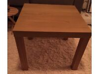 IKEA lack side table - Oak