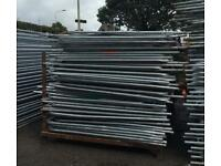 🔩 Used Heras Fencing Set ~ (Panel/ Foot/ Clip) Temporary Security Fencing