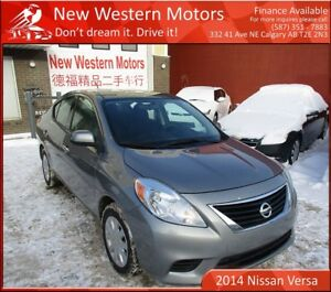 2014 Nissan Versa S! Accident Free! Call for More Details!
