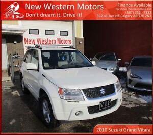 2010 Suzuki Grand Vitara JLX-L! 4WD!! SUNROOF!! HEATED SEATS!