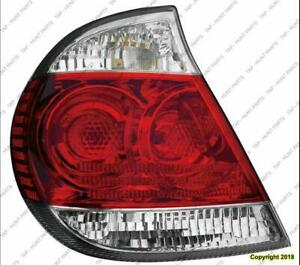 Tail Light Driver Side Le/Xle High Quality Toyota Camry 2005-2006