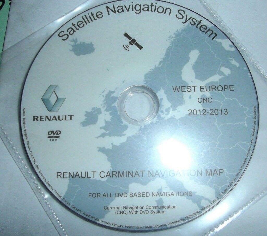 renault laguna carminat navigation system dvd europe uk. Black Bedroom Furniture Sets. Home Design Ideas