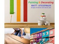Painting and decorating services: Airdrie,Coatbridge, Blackridge,Armadale,Livingston,Falkirk