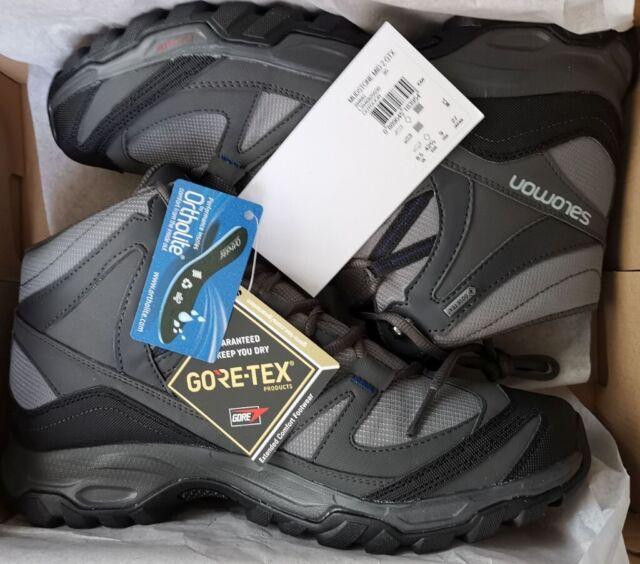 Salomon Mudstone Mid 2 GTX Shoes Boots 8.5 UK BNWT hike walk travel   in Leith, Edinburgh   Gumtree