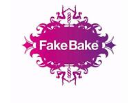 Mobile Spray Tan service FakeBake #fakebake Men & women