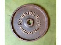 20kg weight plates (pair)