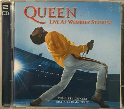 Queen - Live At Wembley Stadium - 28 Track 2003 UK Release  Double CD.