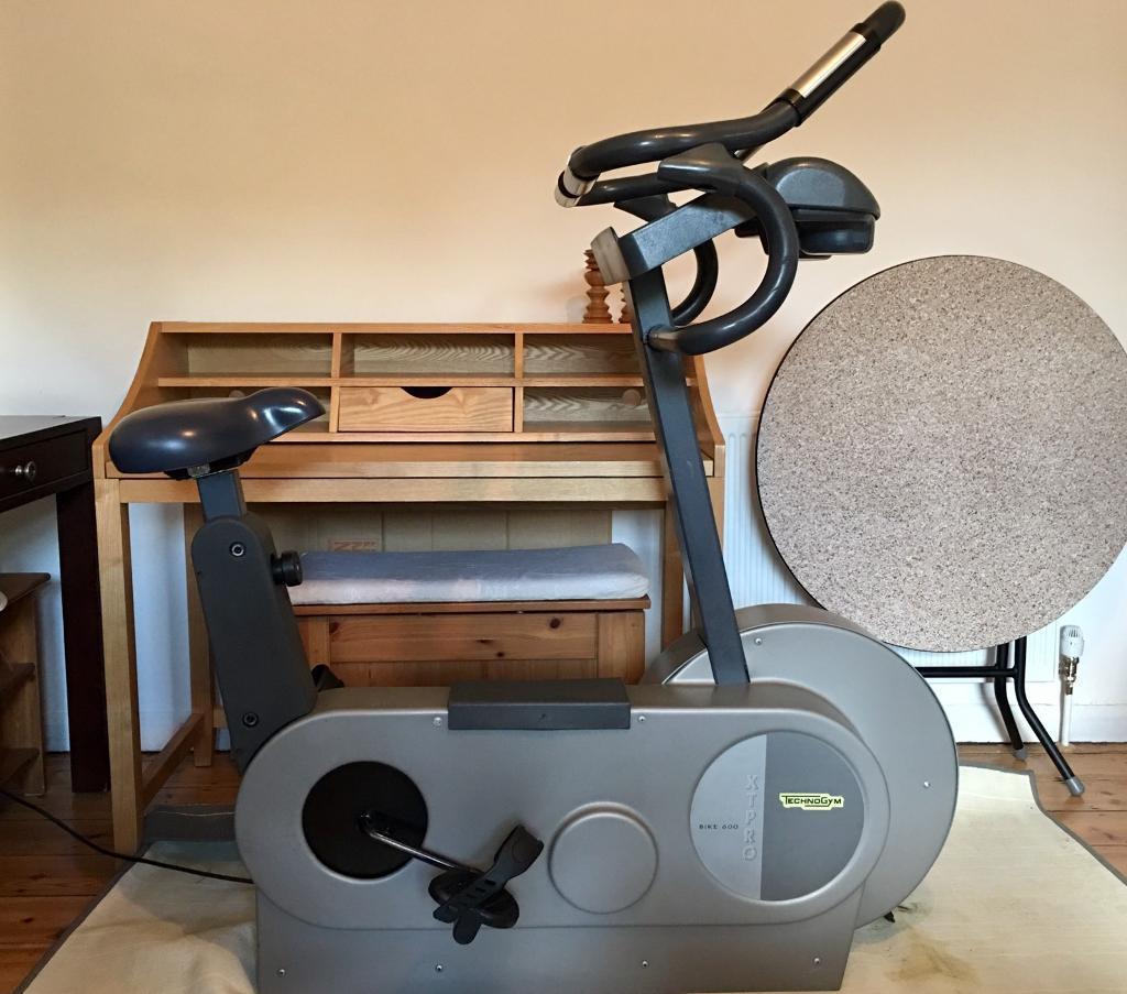 Fitness Equipment London: TechnoGym Bike 600 XT-Pro Commercial Upright Exercise Bike