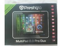"Prestigio android tablet 8""brand new"
