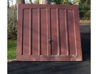 2 Garage Doors, Wessex Pembroke, Fibre Glass, Excellent Condition, no scratches - as-seen -