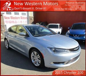 2015 Chrysler 200 Limited! Heated Seats and Steering!! B.CAM!!!